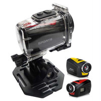Wholesale HD P Mini Portable Sportscam Waterproof HD DV Camera M Pixels Degree Wide Angle Outdoor Action Camcorder F22