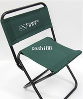 Camping Chairs Beach Chair Outdoor Furniture High-grade Quality Camping Chair 24*24*45 cm Metallic Folding Outdoor Beach Chair Fishing Seat Easy to Carry can be Customized