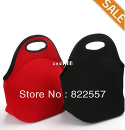 Wholesale Hot Fashion thermo thermal bag Insulated Cooler Bag thicker kids neoprene lunch bag boxes Outdoor Food Container mother baby bag