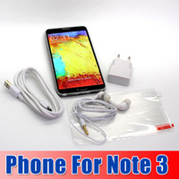 Thai with Bluetooth Lenovo Cellphone 1:1 Note 3 16GB Quad Core MTK6582 RAM 2G Android 4.4 13.0MP Camera 3G WCDMA Single Card Smart cellPhone seven--eleven