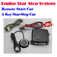 Wholesale car START STOP Engine system push button keyless entry system with start stop button Auto alarm system remote engine start button