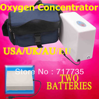 Wholesale 2 Batteries Oxygen Concentrator For Daily Care Mini Car Oxygen Bar Portable Oxygen Inhaler Oxygenerator