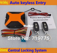 Wholesale car Hot sale high quality Universal Auto Keyless Entry Remote locking systems with Remote Controllers