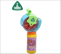 Multicolor Heart PA Genuine UK ELC armed with automatic electric whirlwind blowing bubble machine bubble gun with bubble water toys for children