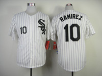 Baseball Men Short Cheap 2014 White Sox Jersey 10 Alexei Ramirez Cool Baseball Jersey Embroidery Logo High Quality Baseball Uniforms for Men Allow Mix Order