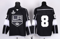 Wholesale Drew Doughty Jersey LA Kings Stitched Hockey Jerseys with Stanley Cup Final Patch Name Logo Embroidery Cheap Mens Sports Shirts