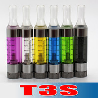 Cheap Best selling!!!T3S Atomizer T3 update Clearomizer T3S Detachable Cartomizer 2.5ml seven--eleven