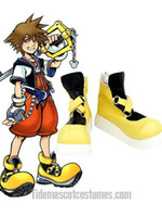 Wholesale Kingdom Hearts Sora Imitated Leather Foam Cosplay Shoes