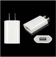 Wholesale Genuine Colorful High Quality V A mah USB Travel AC Adapter US EU Plug Wall Home Charger for iphone S G GS S C ipad Samsung
