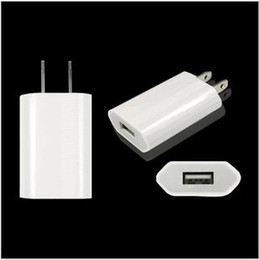 Wholesale Official USB Travel Wall Charger US EU Plug AC Power Adapter Full V A mAh Home Wall Chargers For Apple iPhone s plus s se pro