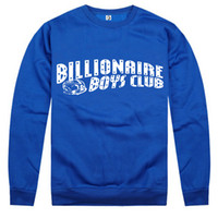 Spring / Autumn Outdoor Sport Style Cotton NEW hot sale BBC Billionaire Boys Club sweatshirt VSVP fuckdown mix order High Quality Collection BBC
