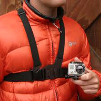 Wholesale S5Q Black Adjustment Elastic Body Chest Strap Mount Belt for GoPro HD Hero AAABLH