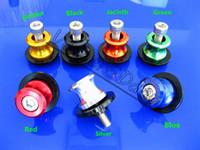 Wholesale For HONDA CBR650F RR RR Kawasaki ZX6R R Suzuki GSXR600 mm Swingarm Spools