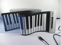 Wholesale New Keys Portable Roll Up Electronic Piano