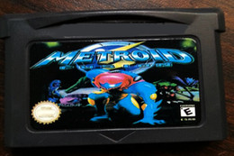 Wholesale Brand New Game Metroid Fusion Video Games GBA games Hottest Game