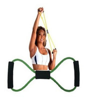 fitness body building - Resistance Training Bands Tube Workout Exercise for Yoga Type Fashion Body Building Fitness Equipment Tool