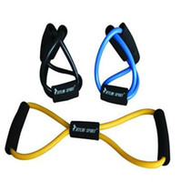 Wholesale Resistance Training Bands Tube Workout Exercise for Yoga Type Fashion Body Building Fitness Equipment Tool from gadgetexpress