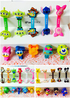 Wholesale Free Ship D Cartoon Cable Tie Earphone Data Audio Cable Fastener Organizer Smart Muted Line Fixer Chirstmas Gift