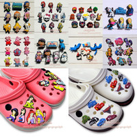 shoe charms - Free DHL PVC Jibbitz Shoe Charms For bands amp shoes with holes Kids Toy Shoe Ornaments Charm Decoration
