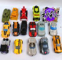 Wholesale Transformers toys legendary treasure Class Optimus Prime Bumblebee genuine bulk metal and other merchandise Hasbro Sideswipe