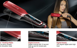 Wholesale Professional Remington s9620 Hair Straightener Silk Ceramic Straightening Irons Flat Iron455F