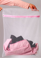 Wholesale 30 CM Washing Machine Specialized Underwear Washing Bag Mesh Bag Bra Washing Care Laundry Bag Via EMS L30771