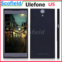 """WCDMA Multi-Language (Please See Picture) Android Ulefone U5 5.5"""" IPS MTK6582 Quad core Android Cell Phone Smartphone 1G RAM 4G ROM 8.0MP Miracast OTG Gesture Android 4.2"""