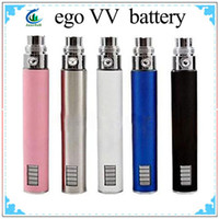 Cheap Ego vv Battery 650mah 900mah 1100mah Available Ego vv LCD Battery for Ego E-cig E-cigarette Kit for CE4 CE5 CE6 Ego