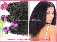 Cheap 6A Malaysian Kinky Curly Hair Extensions 2pcs lot Virgin Human Hair Afro Kinky Curl Weave natural color Qingdao hair product