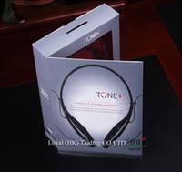 HBS-730 Confortable TONE + Wireless Wearing Style Écouteurs stéréo Bluetooth casque écouteurs pour Samsung LG S4 S5 Livraison gratuite DHL