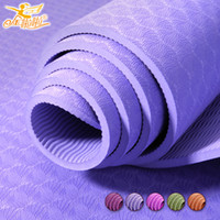 Wholesale mm Yoga Mat TPE Jinlala Natural Rubber Yoga Mat Slip resistant Exercise Mat Eco friendly Fitness Mat