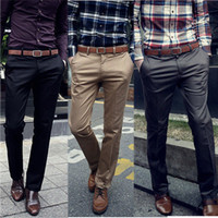 korean men fashion - S Korean Fashion Men s Casual Solid Long Trousers Joker Slim Fit Straight Pants