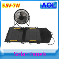 Wholesale solar powered backpack charger solar panel flexible V W portable Outdoor Solar charger
