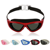 Wholesale Adult anti fog uv anti Water Cartoon swimming goggles fashion color