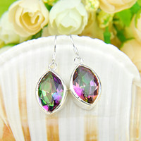 Wholesale 2015 Top Fashion New Arrival Dangle Chandelier Mexican Women s Party Accept Cuff Whosles _ Sterling Silver Plated Crystal Earring E130