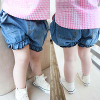 Girl baggy jeans kids - Hot Sale New Korean Summer Shorts Infant Kid Baggy Jeans Children Shorts Baby Shorts Short Jeans Kids Pants Denim Shorts