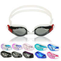 Wholesale Adult anti fog uv anti Water Cartoon swimming goggles fashion cute color