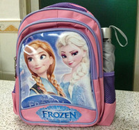 Wholesale high quality children s frozen school bags Elsa Anna princess backpacks decompress handbags boys girls birthday children s day present