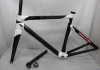 Wholesale 2014 brand new fashion design Impec bike frame black white frames carbon road bike frame high quality er carbon bicycle frame with gifts