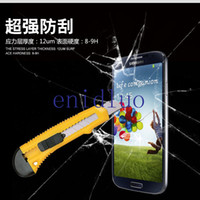 Wholesale 0 MM Premium Tempered Glass Screen Protector For Samsung Galaxy S2 I9100 S3 I9300 S4 I9500 S5 i9600 S3 Mini Without Package