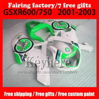 7 gifts High quality Fairings for SUZUKI k1 GSX- R600 750 200...