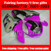 7 gifts customize Motorcycle parts for SUZUKI k1 GSXR 600 75...