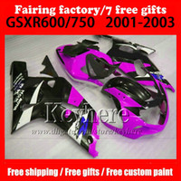7 gifts customize Motorcycle parts for SUZUKI k1 fairing GSX...