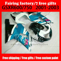 7 gifts ABS full Fairings kit for SUZUKI k1 2001 2002 2003 G...