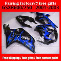 Motorcycle parts for SUZUKI k1 fairing GSXR 600 750 2001 200...