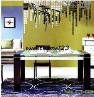 Acrylic amazing bedroom designs - Creative D Mosaic Wall Mirror Sticker cm pc DIY Fun Wall Decal Sticker Magic Square Wall Decor Sticker Amazing Kid s Gift Sweethome123