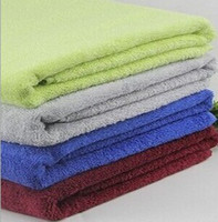bamboo sheets wholesale - LARGE COTTON BATH TOWEL WASHCLOTH BATHROOM BATH SHEETS x140CM