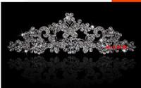 Wholesale Gorgeous Alloy Bridal Wedding tiara crown rhinestone crown hair ornaments