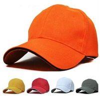 Ball Cap Red Woman 11 Colors Truck Caps For Womens Baseball Hat Men Sport Snapback Hat Sun-shade Unisex Wholesale Retail