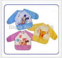 Wholesale Retail baby boys girls cartoonl deisgn Baby smock kids overclothes colors in stock